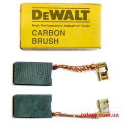 Щетки графитовые (Угольные) DeWALT (6*10 клема)