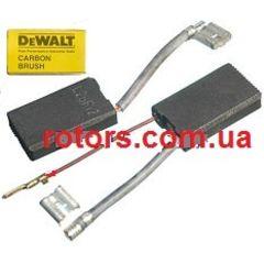 Щетки графитовые (Угольные) DeWALT (6*10 два поводка и клемы)