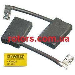 Щетки графитовые (Угольные) DeWALT (6*16 боковая клема)