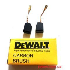 Щетки графитовые (Угольные) DeWALT (6,3*10 клема)